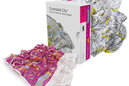 Palomar Crumpled City  карта